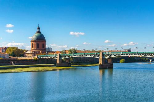 pont sur la Garonne à Toulouse