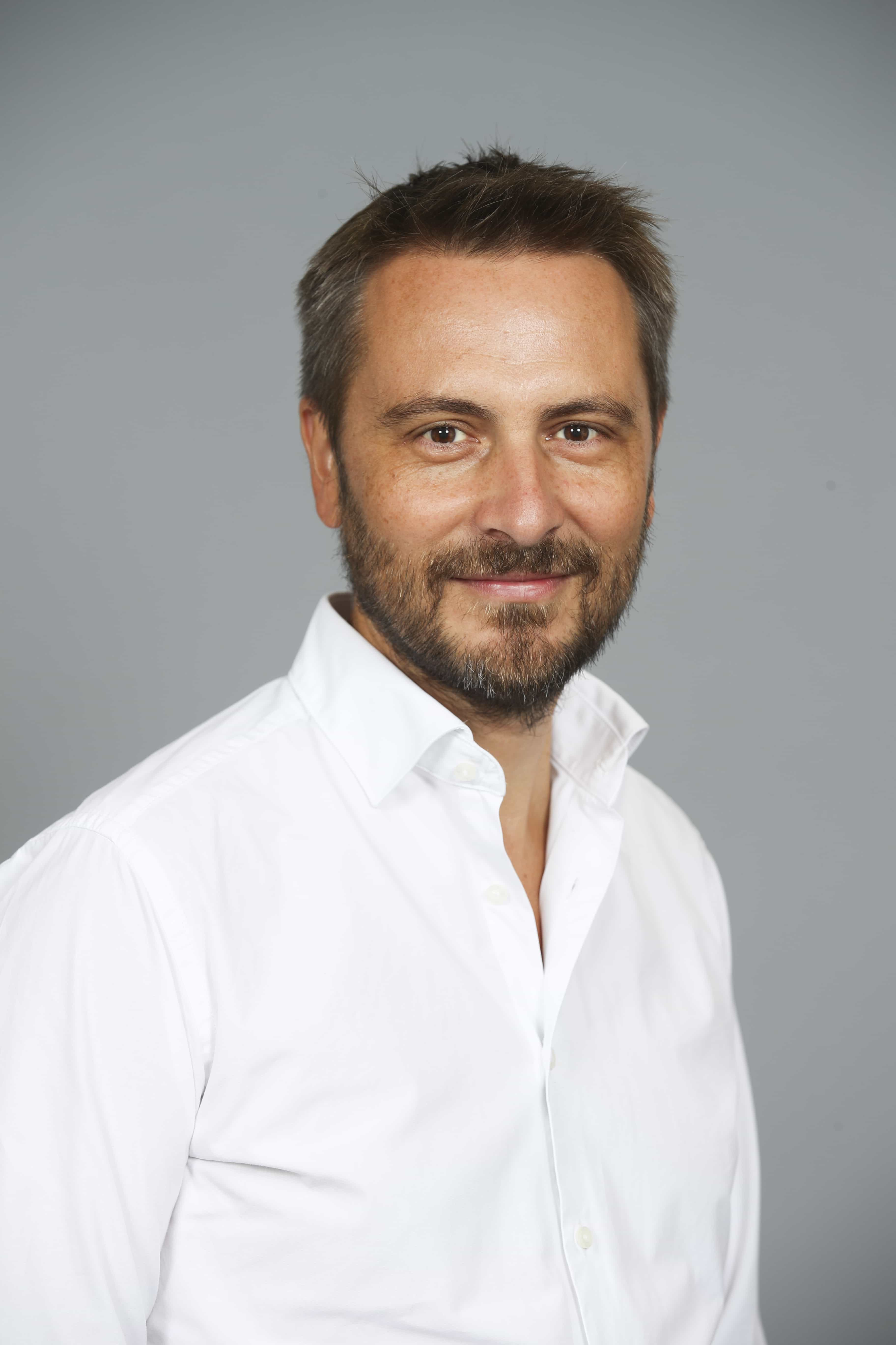 portrait photo du CEO Laurent Pelud